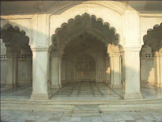 Agra fort diwan i aam arches agra for Diwan i aam images